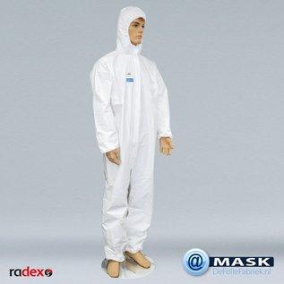 Radex Werkkleding overall WIT, per 25 stuks verpakt.