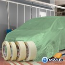 @Mask BEURS deal: afdekfolie met tape