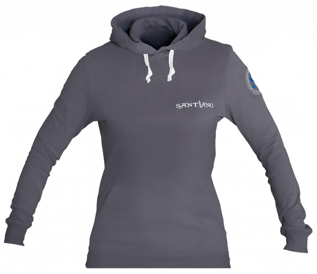 Santiano hoodie, grey