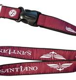 Santiano lanyard red