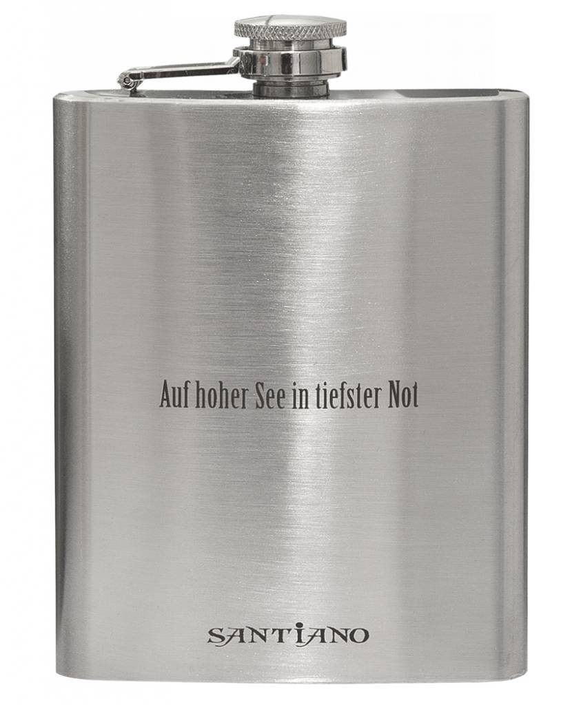 Santiano hip flask