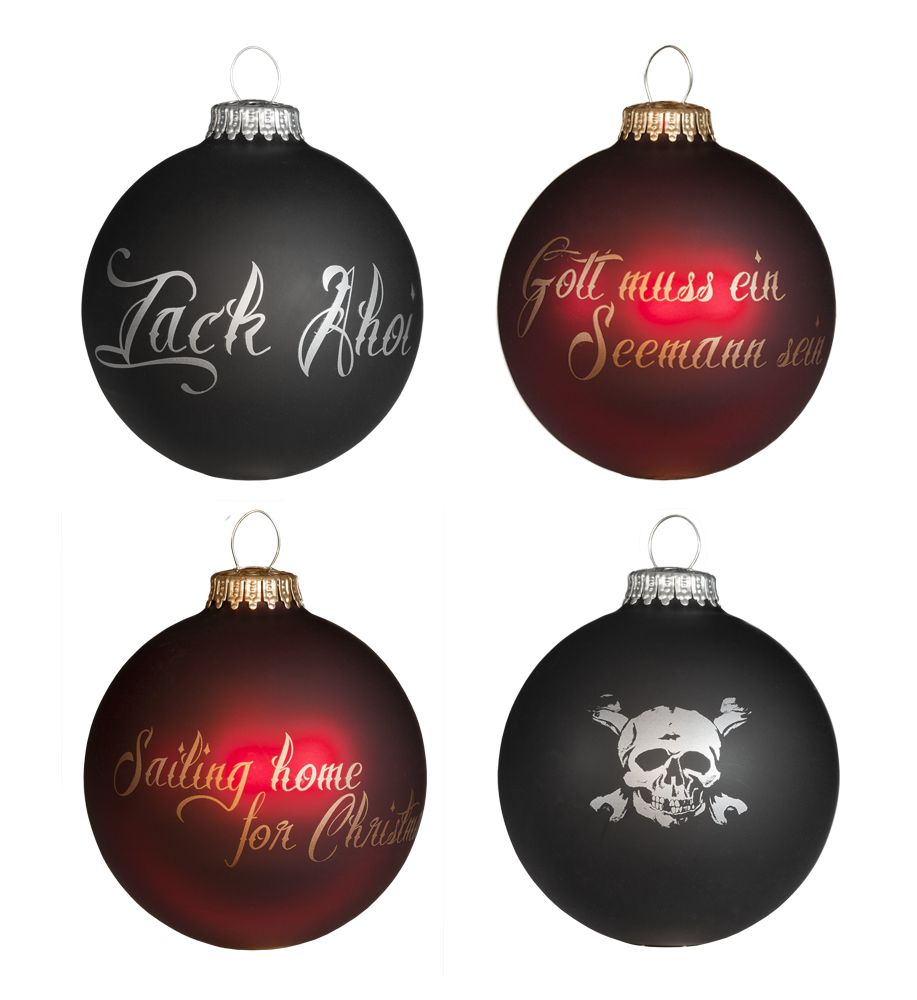 Santiano Christmas bauble