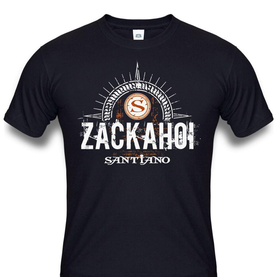 """Herren T-Shirt """"Zack Ahoi"""""""