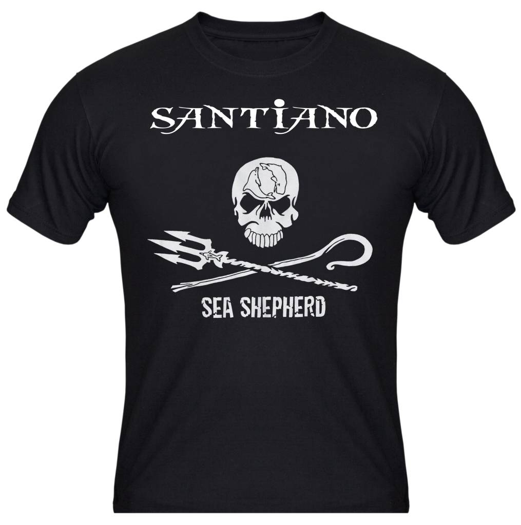 Herren T-Shirt Santiano / Sea Shepherd