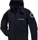 "Men's rain coat ""Santiano"" black"