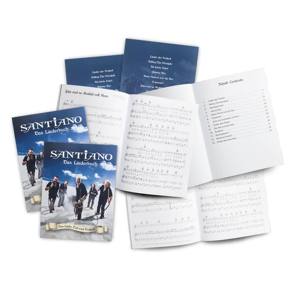 """Santiano Songbook """"Von Liebe, Tod und Freiheit"""""""