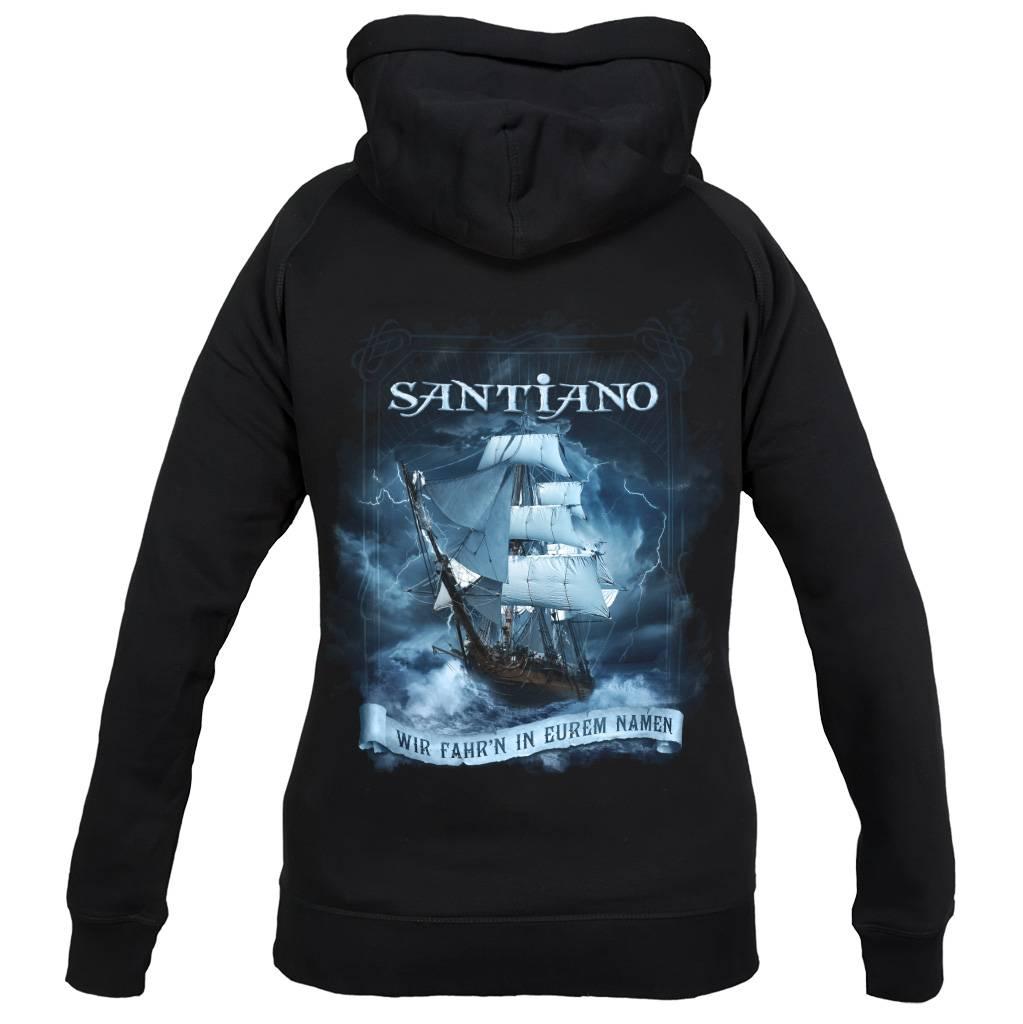 """Santiano Hoodie """"Wir fahr'n in eurem Namen"""""""