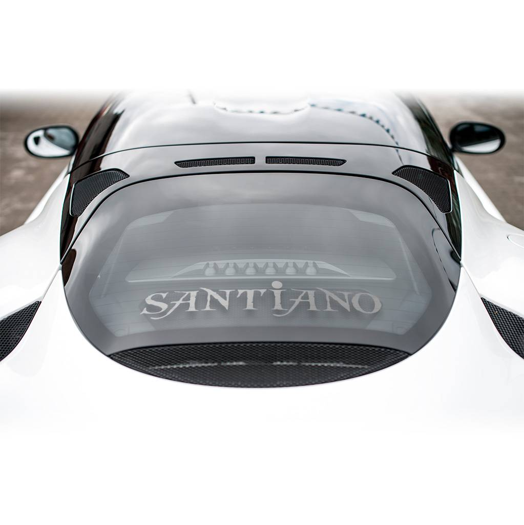 Santiano Heckscheibenaufkleber