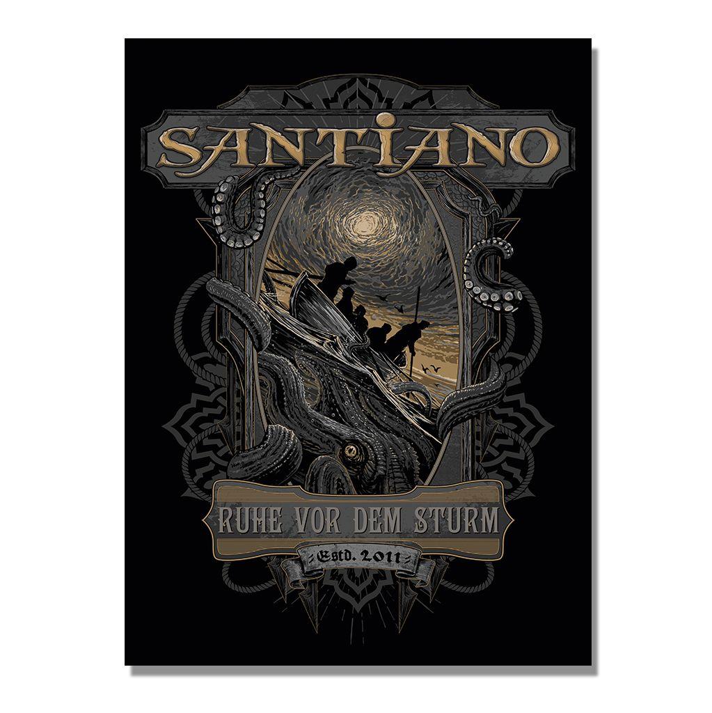 "Santiano Poster ""Die Ruhe vor dem Sturm"""
