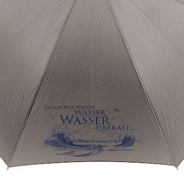 """Santiano umbrella """"Es gibt nur Wasser"""""""