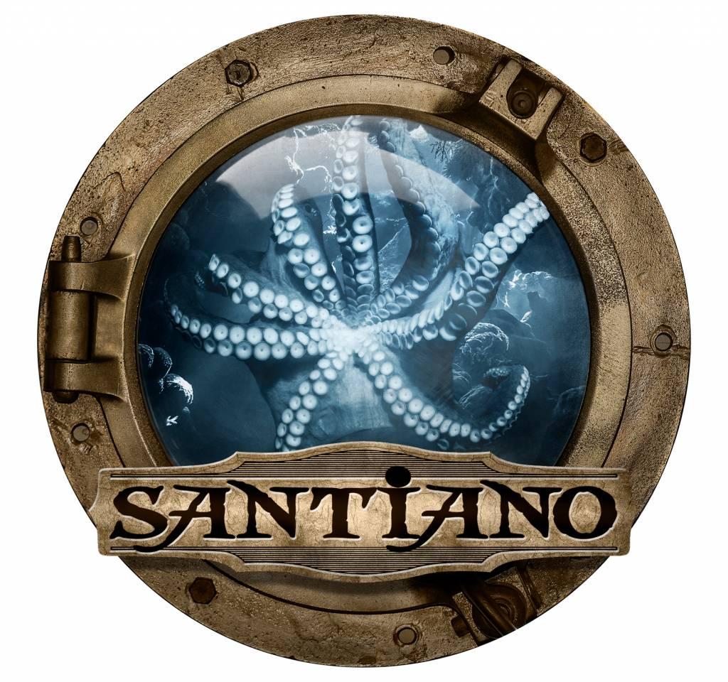 Santiano fridge magnet