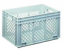 Euro container 600x400x340 perforated side walls