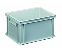 Euro container 400x300x220 solid two handles