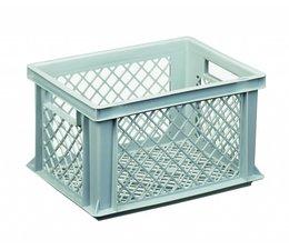 Eurobehälter 400x300x225 mm durchbrochene Wände und Boden, geeignet für schwere Lasten und Lebensmittekontakt