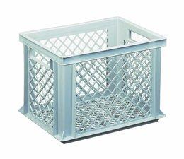 Eurobehälter 400x300x275 mm durchbrochene Wände und Boden, geeignet für schwere Lasten und Lebensmittekontakt
