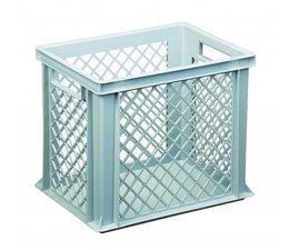 Eurobehälter 400x300x320 mm durchbrochene Wände, geeignet für schwere Lasten und Lebensmittekontakt