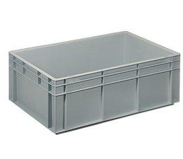 Eurobehälter 600x400x220 mm geschlossene Ausführung, geeignet für schwere Lasten und Lebensmittekontakt