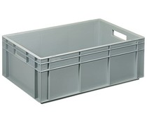 Euro container 600x400x216 solid and reinforced base