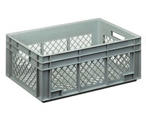 Euro container 600x400x236 perforated walls and bottom
