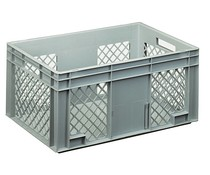 Euro container 600x400x280 perforated side walls
