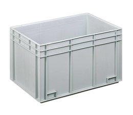 Eurobehälter 600x400x340 mm geschlossene Ausführung, geeignet für schwere Lasten und Lebensmittekontakt