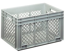 Euro container 600x400x338 perforated walls and bottom