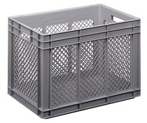 Euro container 600x400x416 perforated walls and bottom