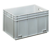 Euro container 600x400x338 solid and reinforced base
