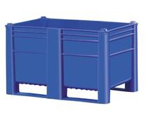 DOLAV Palettenbox 1200x800x740 • 500L blau geschlossen