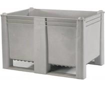 DOLAV Palletbox 1200x800x740 • 500L  grijs gesloten