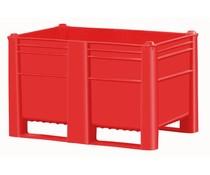DOLAV Box Pallet 1200x800x740 • 500L red solid