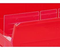 Längsteiler für Lagersichtkasten BISB3Z