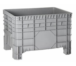 Large capacity containers 1040x640x670 mm, 4 feet, 285L closed