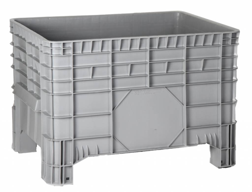 Relativ Kunststoff Großvolumenbehälter 1040x640x670 mit Deckel | - Genteso OB75