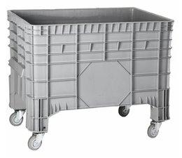 Großvolumenbehälter 1040x640x790 mm, 4 Lenkrollen, 285L geschlossen