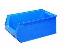 Kunststof Magazijnbak 500x310x200 mm, 28L blauw