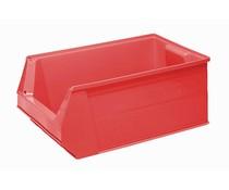 Kunststoff Sichtlagerkasten 500x310x200 28L rot