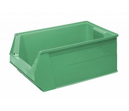 Storage bin SB2 500x310x200 mm, 28 l, colour green