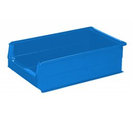 Kunststoff Sichtlagerkasten SB2Z 500x310x145 mm, 21 l, Farbe blau