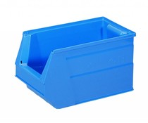Plastic storage bin 350x210x200 mm, 13L blue