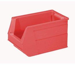 Kunststoff Sichtlagerkasten SB3 350x210x200 mm, 13 l, Farbe rot