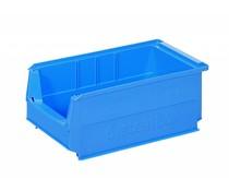 Kunststoff Sichtlagerkasten 350x210x145 9L blau