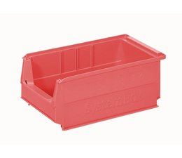 Kunststoff Sichtlagerkasten SB3Z 350x210x145 mm, 9 l, Farbe rot