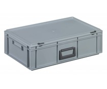 Kunststofkoffer 600X400x183 • 32 Liter