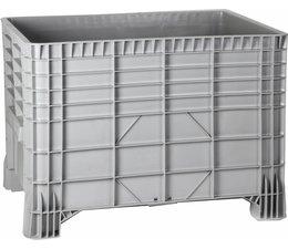 Großvolumenbehälter 1200x800x800 mm, 4Füße, 500L geschlossen