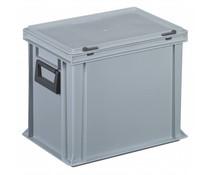Kunststof Koffer 400x300x333 twee hendels • 28 liter