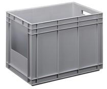 Stapelbehälter mit offener Seite