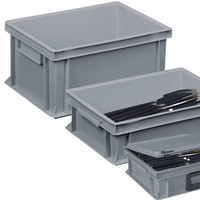 Cutlery bins for restaurants and catering