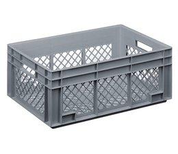 Gläserbehälter 600x400x236 durchbrochene Wände und Boden