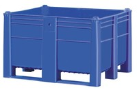 Plastic box pallets type 1000 x 1200 footprint
